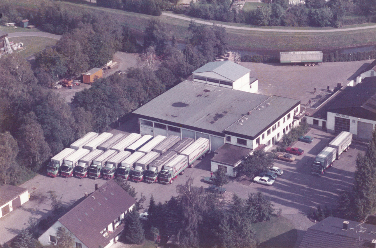 Company premises from above 1980